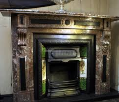 victorian rouge royal marble fireplace chimneypiece