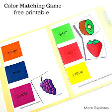 Matching Colors by Color Matching Printable Mom Explores
