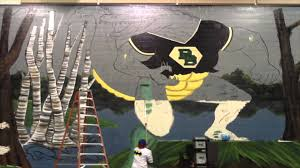 mural mural on the wall time lapse river bluff high school mural mural on the wall time lapse river bluff high school youtube