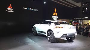 mitsubishi evo concept mitsubishi e evolution debuts at tokyo auto show