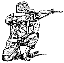 military coloring book gun clip art images illustrations photos