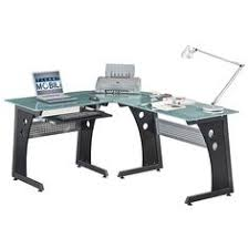 Black Tempered Glass Computer Desk Glass Computer Desk Home Decor Pinterest Desks And Glass