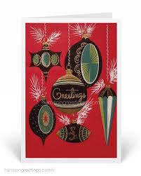 retro christmas cards 1950s vintage cards harrison greetings business