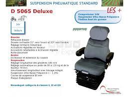siege pneumatique basse frequence siège suspension pneumatique d 5065 deluxe 24v matière velours