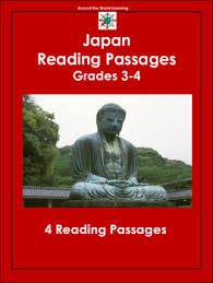 reading comprehension questions 4th grade around the world japan reading passages 3 4 grade reading