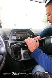 Putting An Aux Port In Your Car How To Install An Aux Input Cable In Your Honda Odyssey So You Can