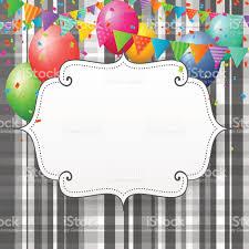 Six Flags Birthday Vacío Tarjeta De Felicitación De Cumpleaños Con Globos Y Parque