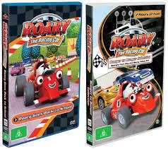 roary racing car dvds