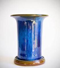 Denby Vase Pottery Denby Electric Blue C20ceramics