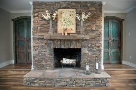 excellent stacked stone fireplaces ideas perfect ideas 9338