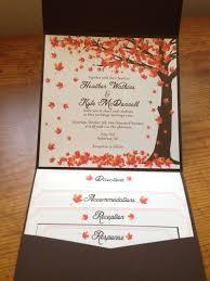 cheap fall wedding invitations fall wedding invitation kits uc918 info
