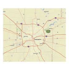 State Of Indiana Map by Fort Harrison Reuse Authority Land And Location