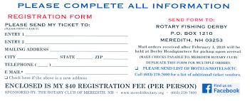 registration form meredith rotary club