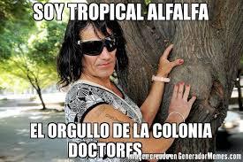Alfalfa Meme - soy tropical alfalfa el orgullo de la colonia doctores