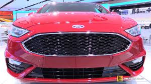 Home Design Exterior And Interior 2017 Ford Fusion Sport Exterior And Interior Walkaround Debut