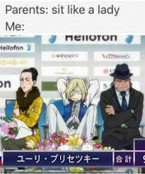Anime Meme Website - imagenes y memes de yuri on ice yuri memes and anime