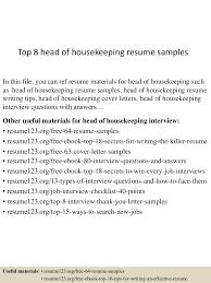 housekeeping resume resume peppapp