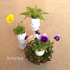 Wildflower Arrangements Easy Easter Flower Arrangements The Neat Nook