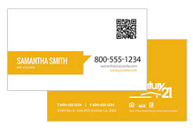 Century 21 Business Cards Custom Design Realty Business Cards Century 21 Realty Business Cards