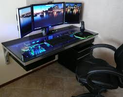 gaming computer desk for sale gaming computer desk for multiple monitors beautiful desk small
