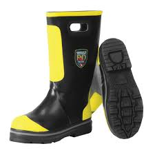 Firefighter Safety Boots by Dex Rubber Fire Boot
