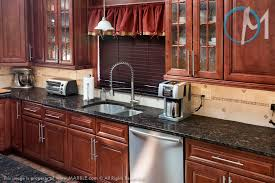 what color granite looks best with cherry cabinets brown granite color selection for countertops trendy