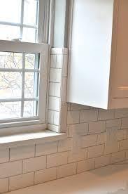 kitchen window backsplash backsplash like the trim around the window this would really