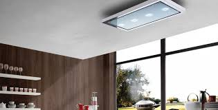 Kitchen Island Extractor Fans Amadeus Ceiling Cooker Hood Air Uno Designer Cooker Hoods