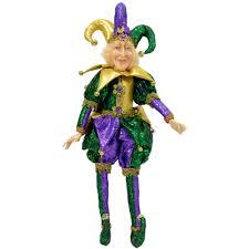 mardi gras jester costume mardi gras jester doll 18 xn4011 mardigrasoutlet