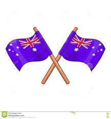 Australia Flags Australia Flags Icon Cartoon Style Stock Vector Image 79564577