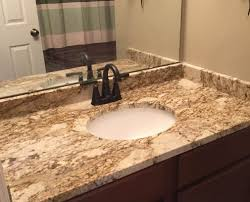 Granite Bathroom Vanity by Fantasy Platinum Granite Bathroom Titan Granite St Louis Mo