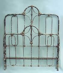 vintage metal bed frames interior design