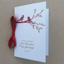 program booklets 16 best lovebirds wedding theme images on birds