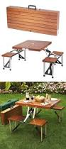 Free Woodworking Plans Folding Picnic Table by Best 25 Folding Picnic Table Ideas Only On Pinterest Outdoor