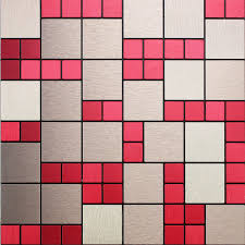 metal wall tiles kitchen backsplash metal mosaic tile sheets magic metallic wall tiles kitchen
