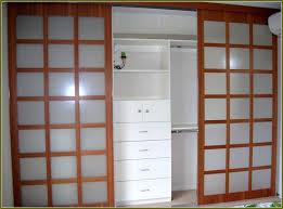 Sliding Glass Doors For Closet by Decor Frosted Glass Sliding Closet Doors Home Depot For Chic Home