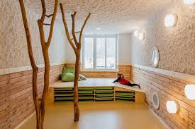 Beautiful Day Care Interior In Simple And Natural Design By - Nature interior design ideas