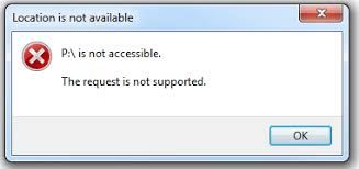 drive not accessible wd drive is not accessible the request is not supported wd