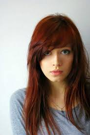 hair cuts with red colour 2015 best hairstyles with side swept bangs hairstyles haircuts 2016