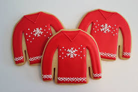 sweater cookies sugar cookies cookie gift boxes
