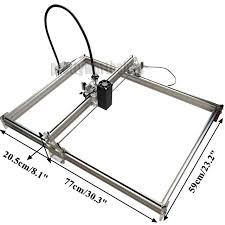 ceramic engraving 50x65cm 7w desktop laser engraver metal iron stell ceramic