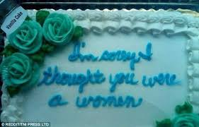 honest cakes that tell you home truths daily mail online