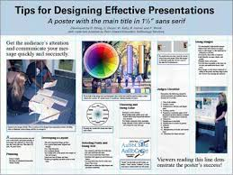 poster session tips