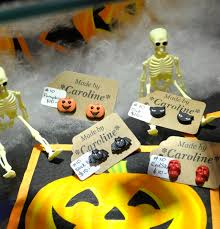 halloween earrings brick lane bazaar u2013 collectables u2013 vintage u2013 retro u2013 vintage