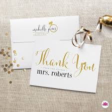 printed thank you cards bridal shower thank you from the future