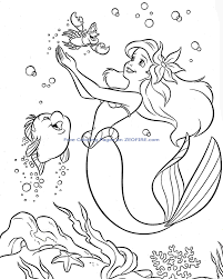 download coloring pages mermaid coloring