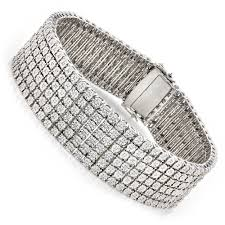 sterling silver bracelet with diamond images Sterling silver bracelets diamond bracelet 1 01ct jpg