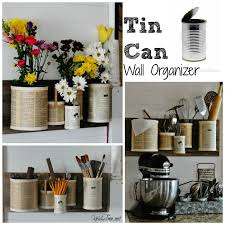 tin can wall organizer knick of time