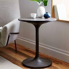 west elm concrete side table concrete pedestal side table west elm awesome concrete pedestal