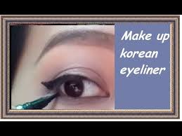 tutorial make up mata sipit ala korea tutorial eyeliner ala korea korean eyeliner look youtube